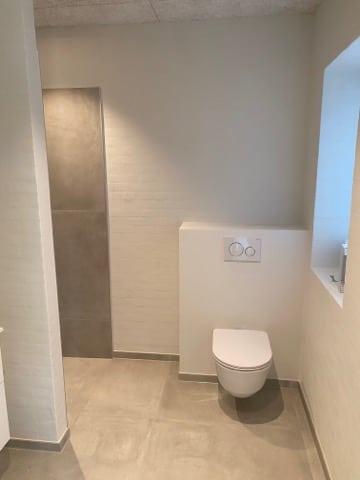 Nyt badeværelse VVS arbejde